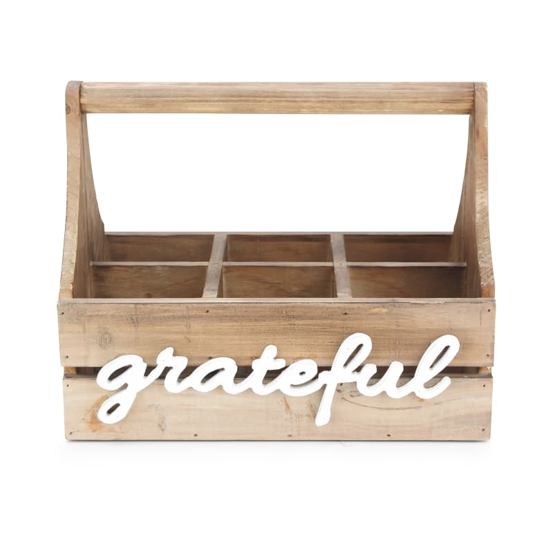 IMAX Home 17328 Grateful Wood Storage Caddy