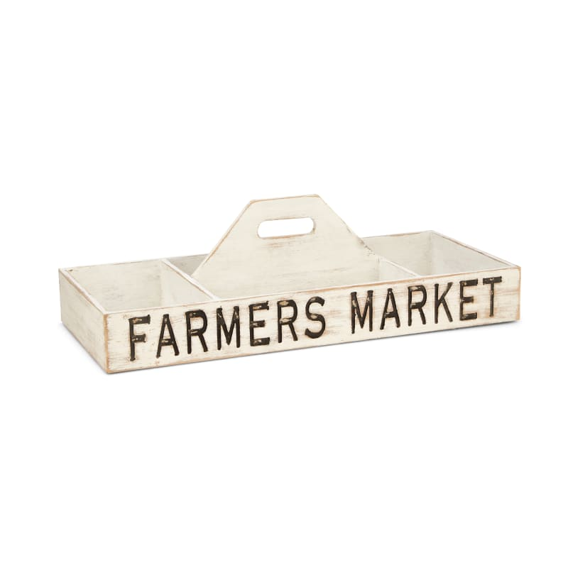 IMAX Home 17345 Farmer's Market Wood Storage