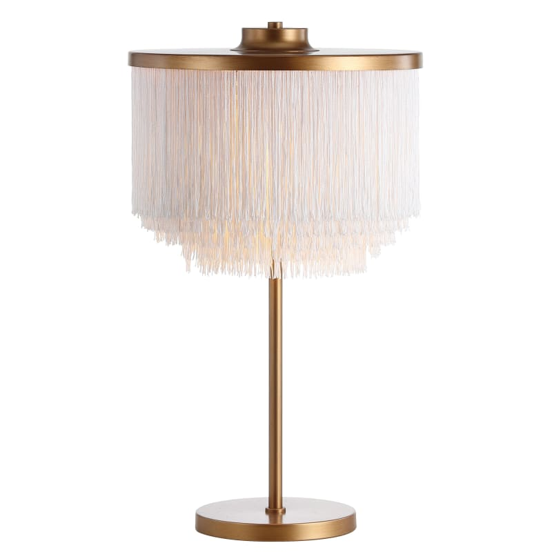 White Lamps Table, Gold Buffet Table Lamps