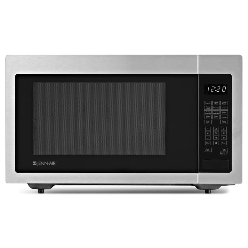 JennAir JMC1116A 22 Inch Wide 1.6 Cu. Ft. 1200 Watt Countertop Microwave Stainless Steel Microwave Ovens Microwave Countertop