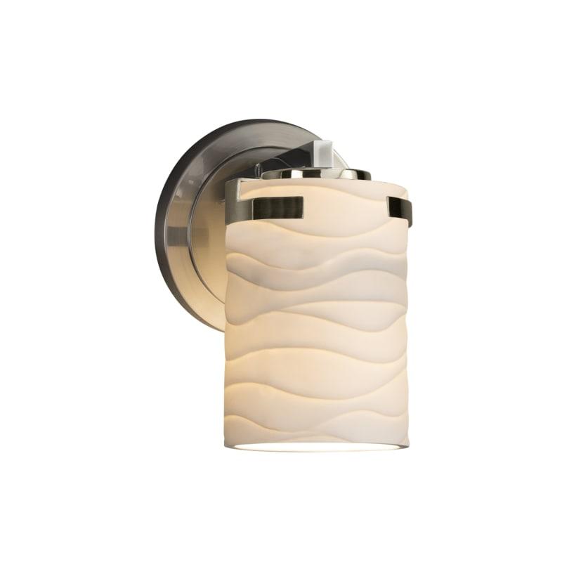 Justice Design Group POR-8451-10-WAVE-LED1-700 Atlas Single Light