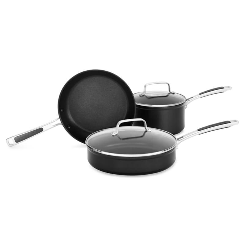 Kitchenaid Kc2h1s05b Nonstick 5 Piece Cookware Set