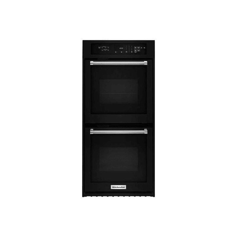 KitchenAid KODC304E 24 Inch Wide Electric 6.2 Cu. Ft. Double Wall Oven with True -  KODC304EBL