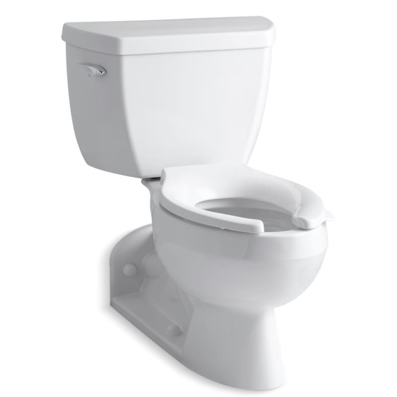 Kohler K 3554 Barrington Two Piece Elongated Toilet With