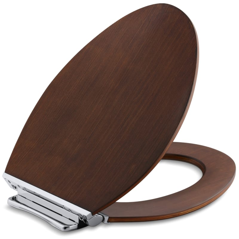 Peachy Kohler K 4761 Cp Avantis Elongated Closed Front Toilet Seat Gmtry Best Dining Table And Chair Ideas Images Gmtryco
