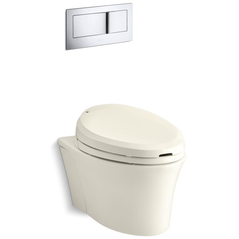 Strange Kohler K 6304 Veil 16 Gpf One Piece Elongated Toilet With Andrewgaddart Wooden Chair Designs For Living Room Andrewgaddartcom