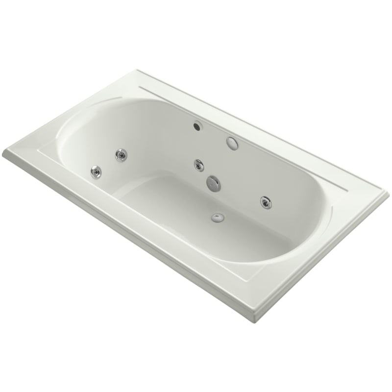 Kohler K 1418 Hh Memoirs Collection 72 Drop In Jetted