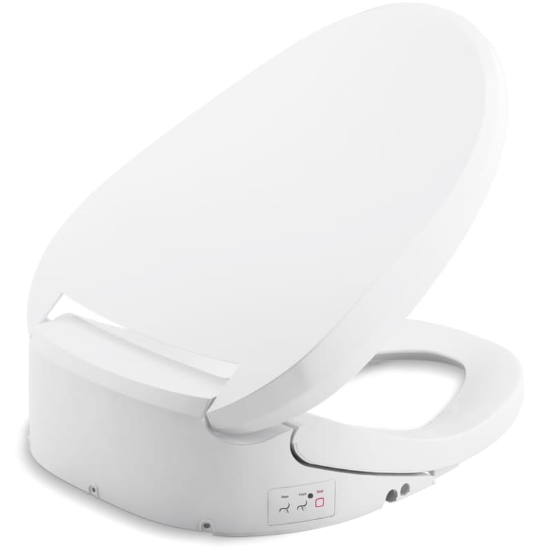 Marvelous Bath Elongated Non Electric Bidet Seat Single Wand Quiet Machost Co Dining Chair Design Ideas Machostcouk