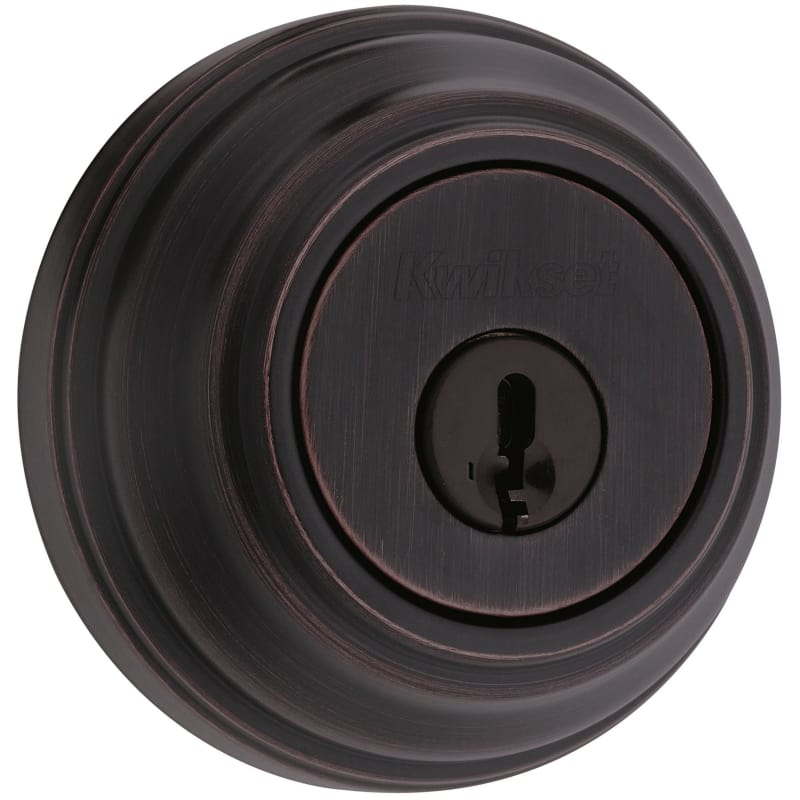 Kwikset 985S-S Double Cylinder Deadbolt Featuring SmartKey From the 980 Signatur