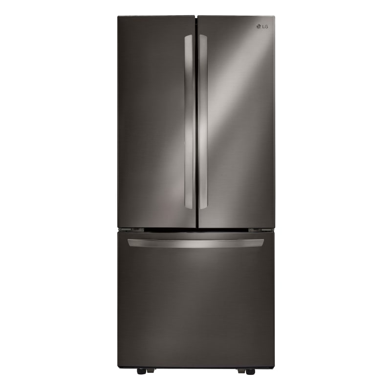 LG LFCS22520D 30 Inch Wide 21.8 Cu. Ft. Energy Star Rated French Door Refrigerator, Black Stainless Steel