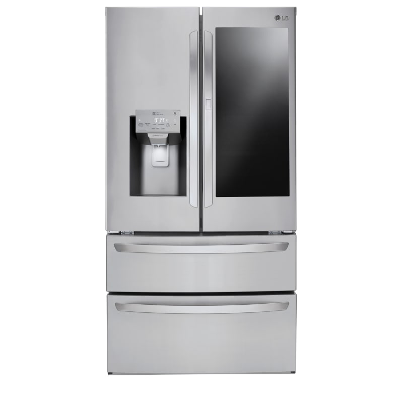 LG LMXS28596S 36 Inch Wide 27.6 Cu. Ft. Energy Star Rated French Door Refrigerator, Stainless Steel
