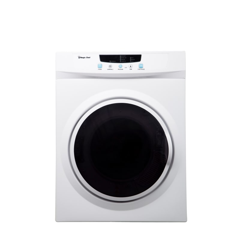 Magic Chefmagic Chef Mcsdry35 24 Inch Wide 3 5 Cu Ft Electric Dryer With Digital Controls White Laundry Appliances Dryers Electric Dryers Dailymail