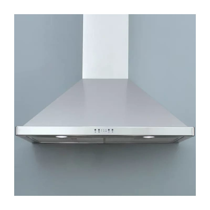 "Miseno Mh00630as 750 Cfm 30"" Stainless Steel Wall Mounted Range Hood With Led Li"