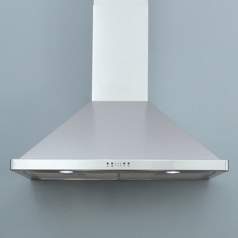"Miseno Mh00630as 750 Cfm 30"" Stainless Steel Wall Mounted Range Hood With Dual H"