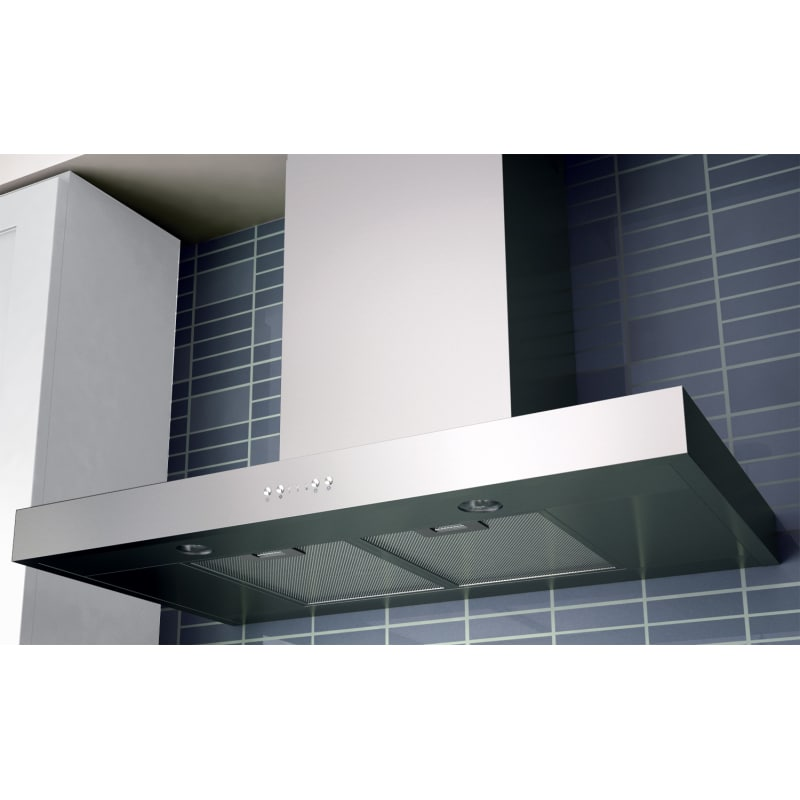 Miseno Mh00830as 30 Inch Wide 750 Cfm Wall Mounted Range Hood With Dual Halogen