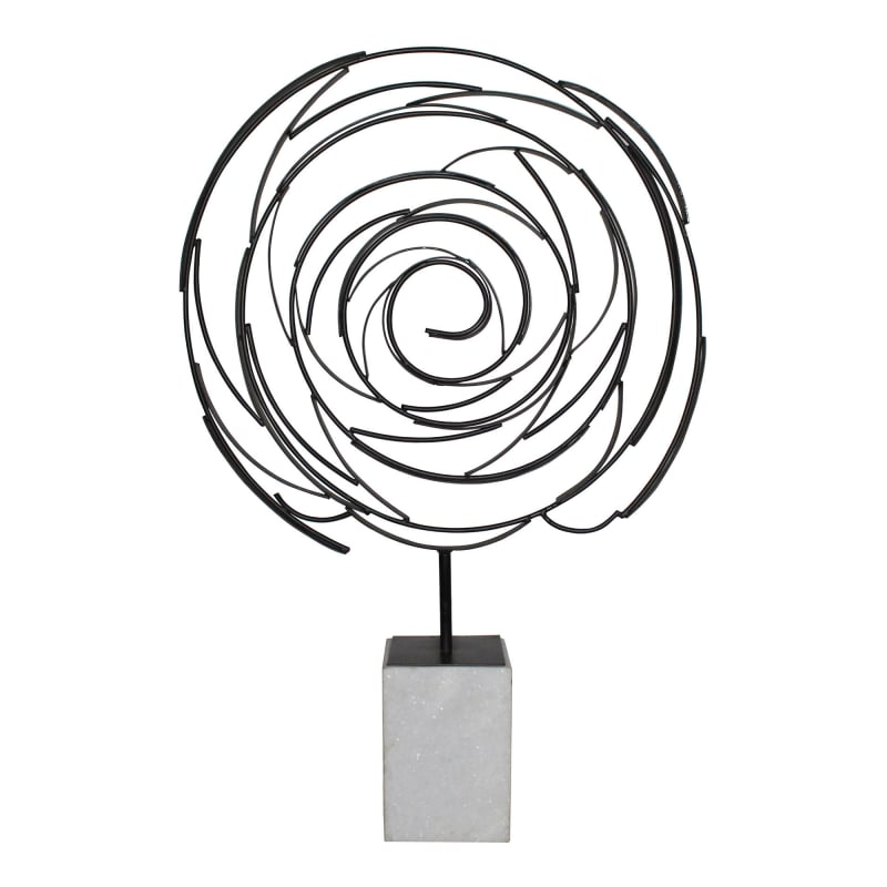 Moes Home Collection MK-1043 Iron Spiral Sculpture