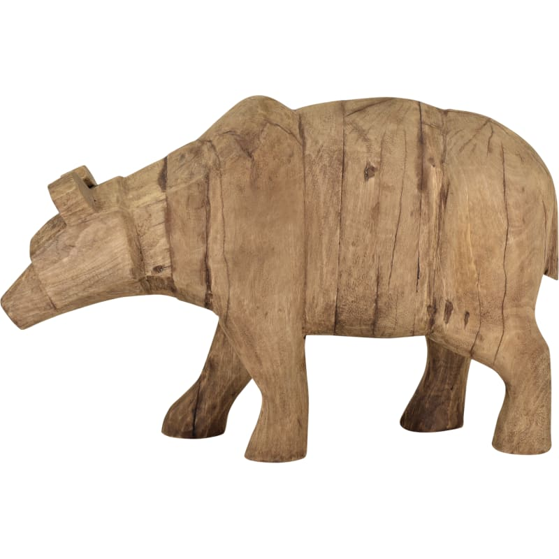 Moes Home Collection YZ-1004-24 Grizzly Bear Wood