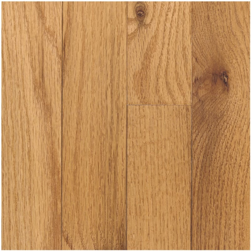 Mohawk Raymore Oak Butterscotch 3/4 in. Thick x 3-1/4 in. Wide x Random Length Solid Hardwood Flooring (17.6 sq. ft. / case) -  HCC57-22