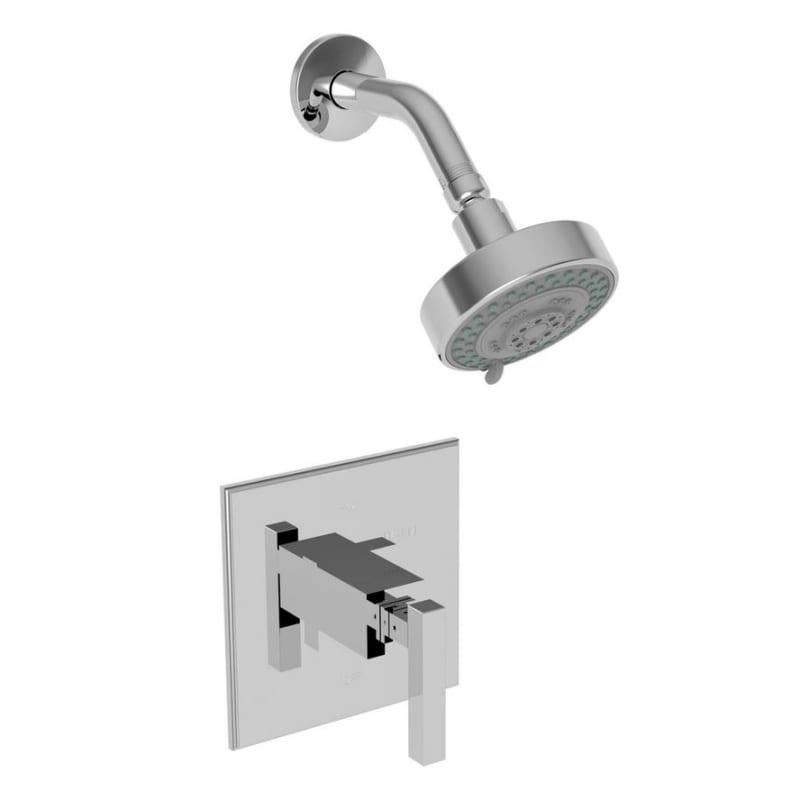Newport Brass 3 2024bp Cube 2 Single Handle Pressure Balanced Shower Trim Only W