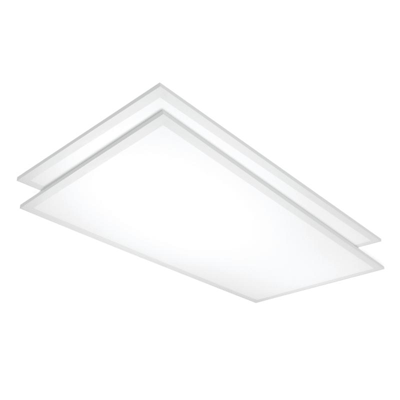 Nuvo Lighting 65/338 Pack of (2) 2' x 4' LED Flat Panel - 120-347 Volt - 5000K White Commercial Lighting LED Panels LED Panels