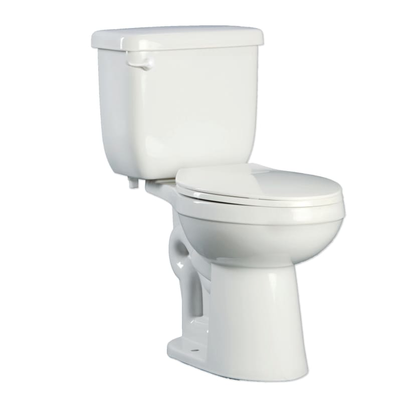 Wondrous Proflo Pfct100He Two Piece High Efficiency Toilet With Round Gamerscity Chair Design For Home Gamerscityorg