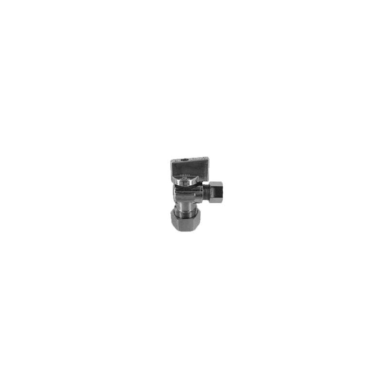 56-Piece Lot Proflo Low Lead Quarter Turn Angle Stop 3//8 FIP x 3//8 OD PFXQAT22C