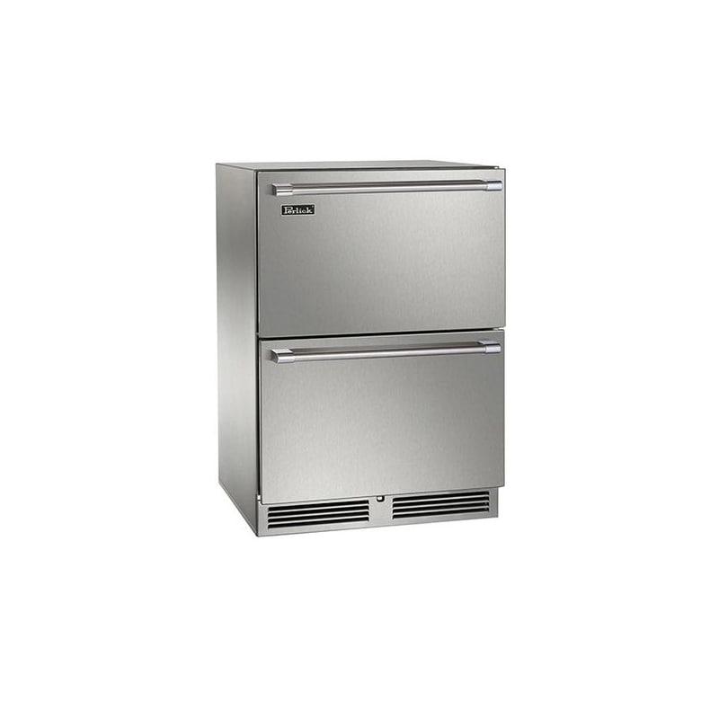 Perlick HP24FO-3-5 24 Built-in Outdoor Freezer Drawers
