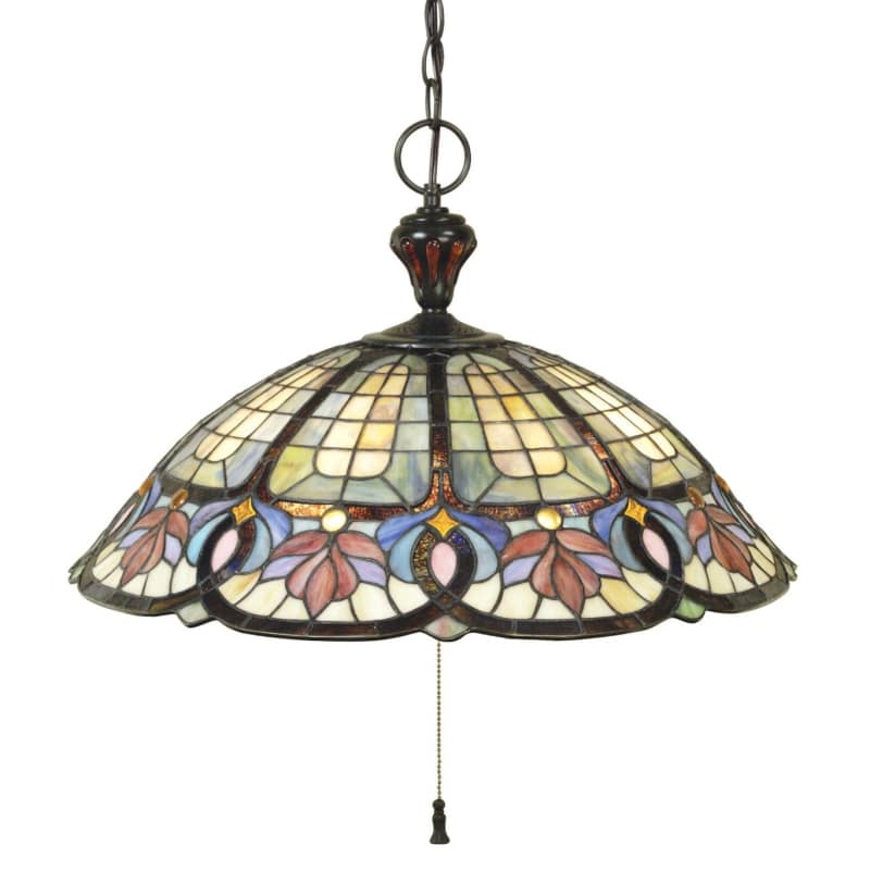 Quoizel TF1618 Tiffany 3 Light Pendant with