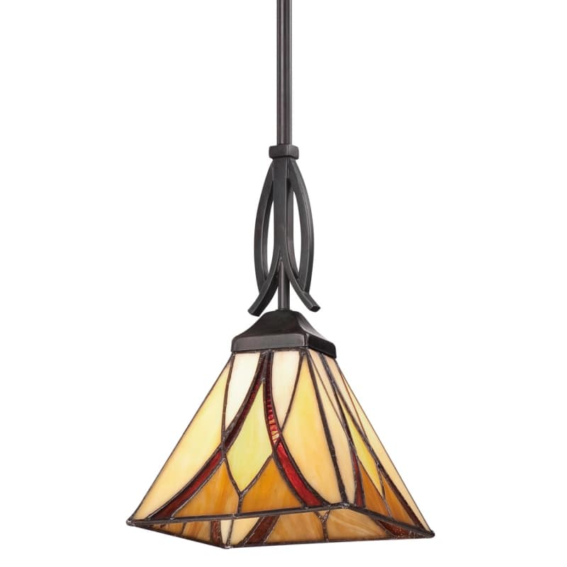 Quoizel TFAS1507 Asheville 1 Light Mini Pendant