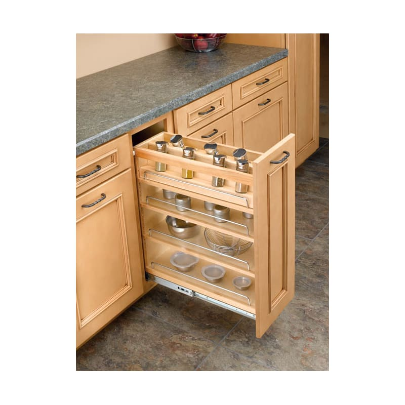 Rev-A-Shelf 448-08SC-SRI-1 448 Series 8 Inch Spice