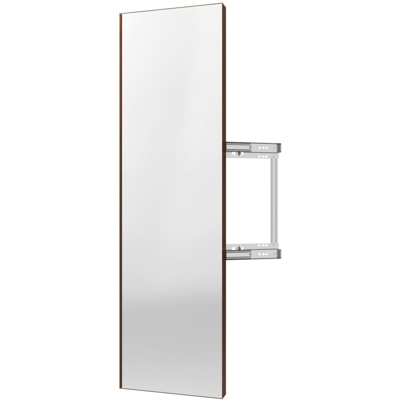 Rev-A-Shelf CMSL-1448-1 Sidelines 48 Inch Pull Out Mirror with Soft Close Bronze Storage and Organization Closet Organizers Pull Out Mirrors