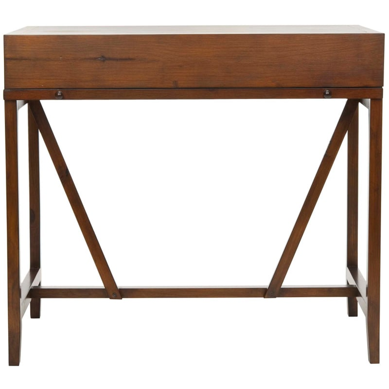 Safavieh AMH6509 Wyatt Writing Desk with Pull