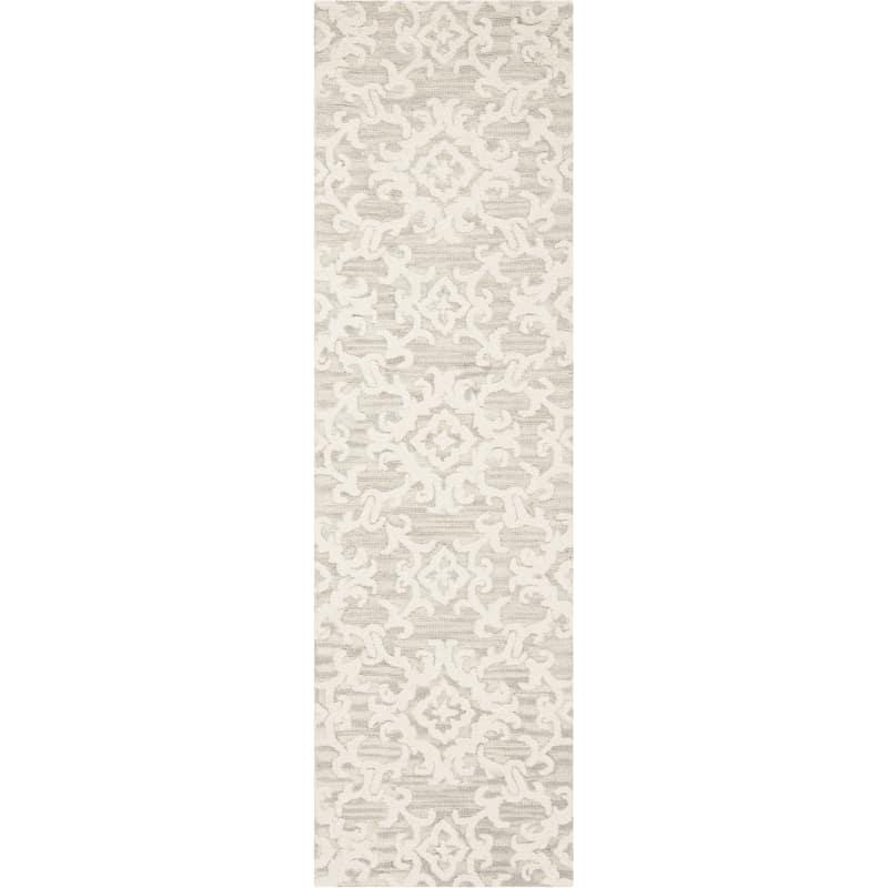 Safavieh Blm104 28 Blossom 2 X 8 Wool Hand Tufted