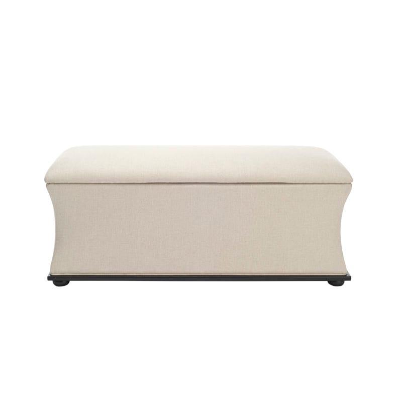 Fabulous Safavieh Hud4072 Maddox Storage Ottoman Machost Co Dining Chair Design Ideas Machostcouk