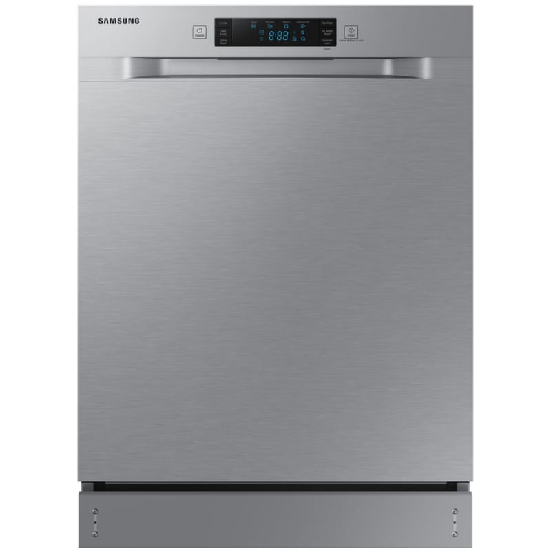 Samsung DW60R2014US 24 Inch Wide 12 Place Setting Energy Star Rated Built-In Semi Integrated Dishwasher, Stainless Steel