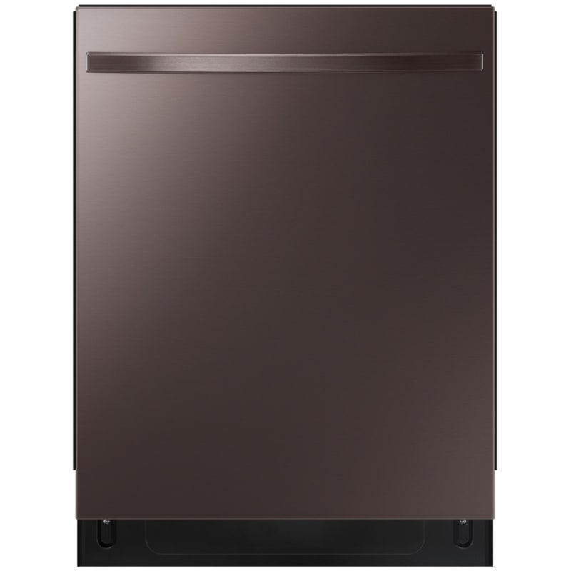 Samsung DW80R5061UT 24 Inch Wide 15 Place Setting Energy Star Rated Built-In Fully Integrated Dishwasher with AutoRelease Door, Fingerprint Resistant Tuscan Stainless Steel