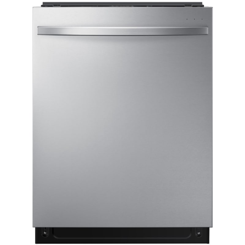 Samsung DW80R7061US 24 Inch Wide 15 Place Setting Energy Star Rated Built-In Fully Integrated Dishwasher with StormWash and AutoRelease Door Fingerprint Resistant Stainless Steel