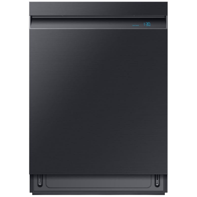 Samsung DW80R9950UG 24 Inch Wide 15 Place Setting Energy Star Rated Built-In Fully Integrated Dishwasher with AquaBlast Jets, Fingerprint Resistant Black Stainless Steel