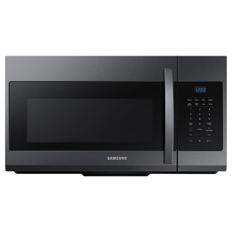 Samsung ME17R7021EG 30 Inch Wide 1.7 Cu. Ft. 1000 Watt Over the Range Microwave Fingerprint Resistant Black Stainless Steel
