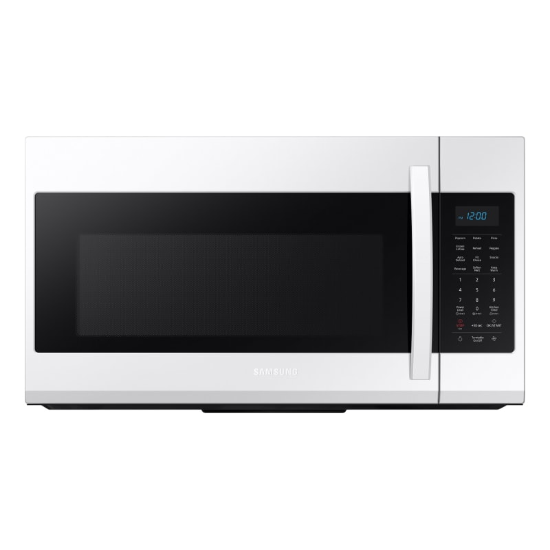 Samsung ME19R7041 30 Inch Wide 1.9 Cu. Ft. 1000 Watt Over the Range Microwave with Sensor Cook White