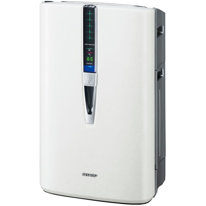 Sharp KC 860U 272 CFM Energy Star Rated Portable Air Purifier with Humidifier an