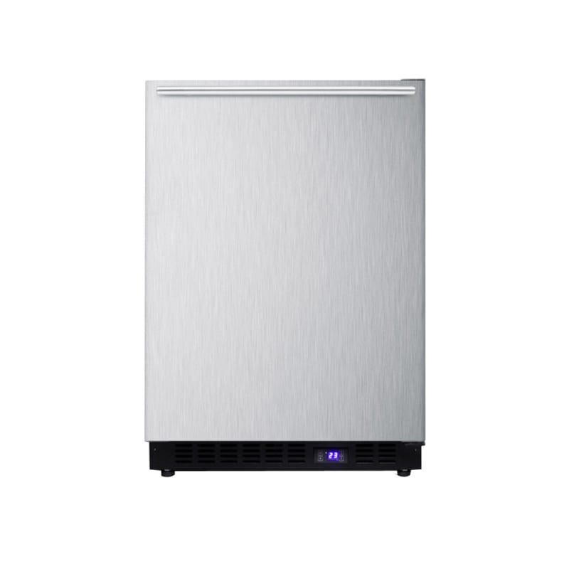 Summit SCFF53BXSSHHIM 24-Inch Built-In Freezer with Ice