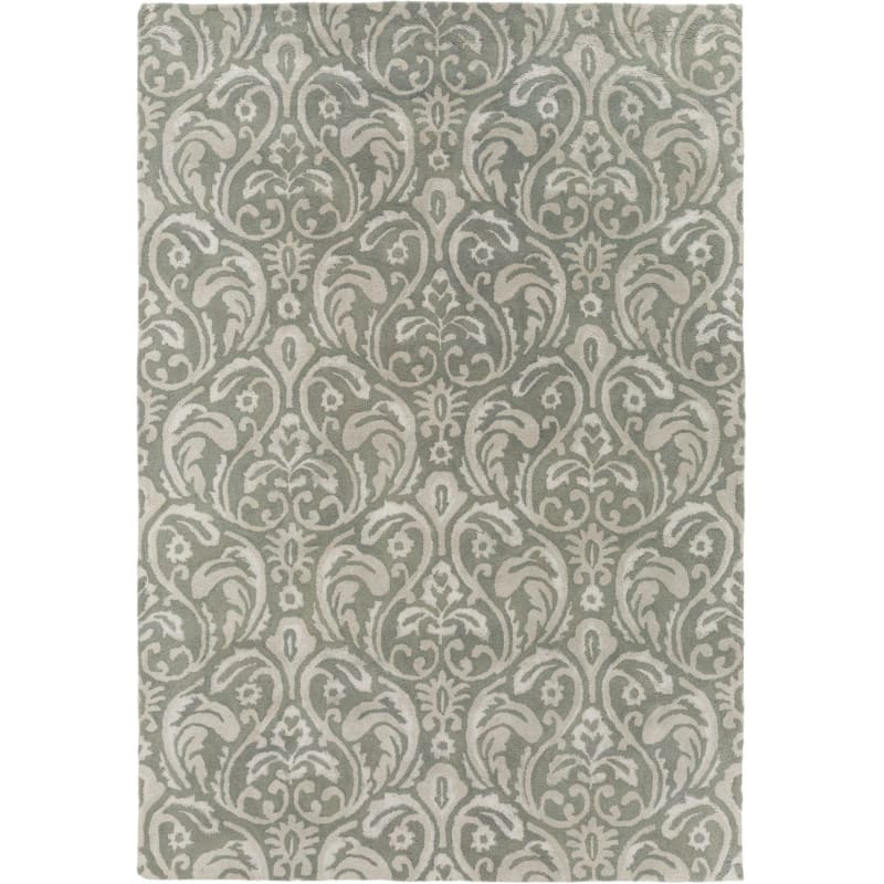 Rectangle Wool Hand Tufted