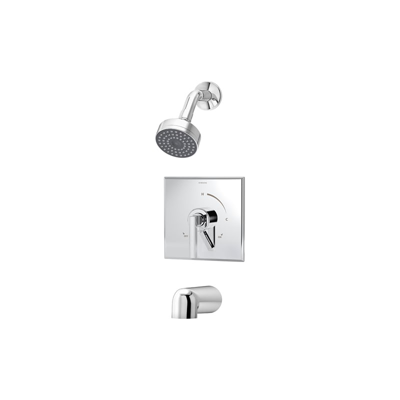 Symmons S 3602 15 Duro 15 Gpm Single Function Shower Head