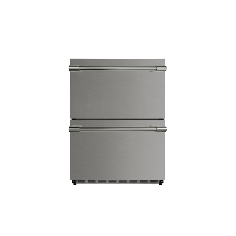 Thor Kitchen Hrf2401u 24 Inch Wide 5.3 Cu. Ft. Outdoor Approved Built In 2 Drawe