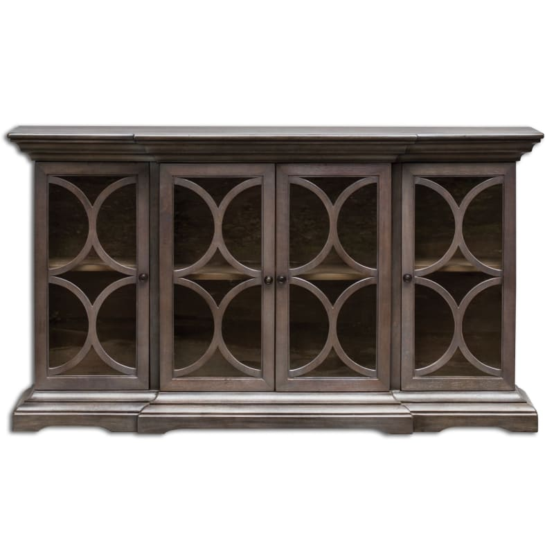 Uttermost 25629 Belino Wooden Open Four Door