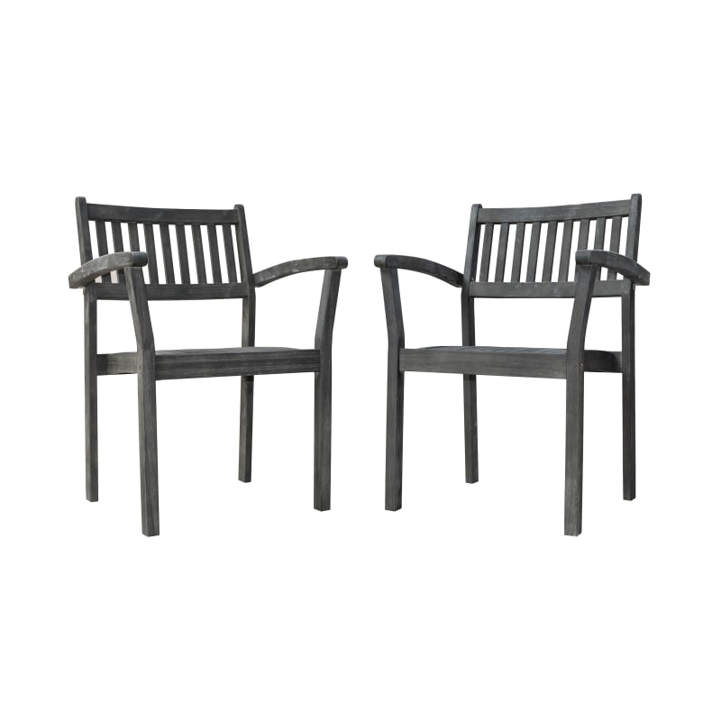Incredible Vifah V18050 Renaissance Two Piece Stacking Wood Outdoor Ocoug Best Dining Table And Chair Ideas Images Ocougorg
