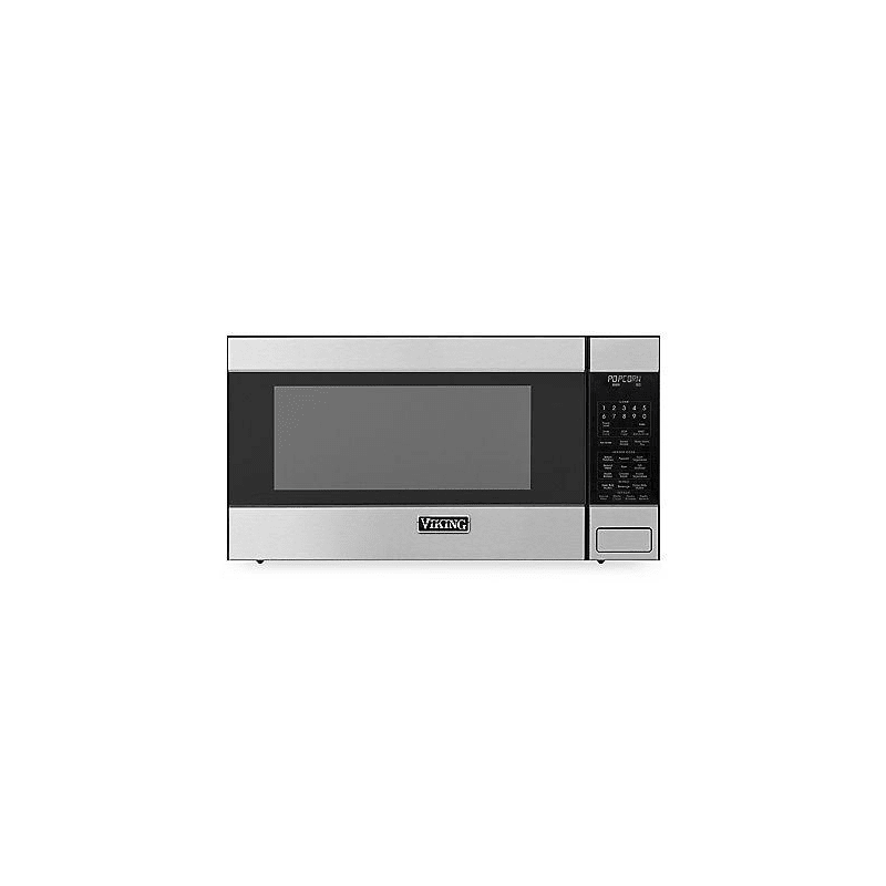 Viking RVM320 24 Inch Wide 2.0 Cu. Ft. Countertop Microwave with Child Safety Lock Stainless Steel Microwave Ovens Microwave Countertop