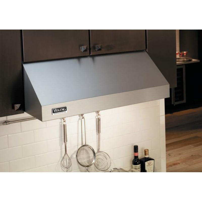 Viking Vwh536481 460 Cfm 36 Inch Wide Under Cabinet Range Hood With Heat Sensor