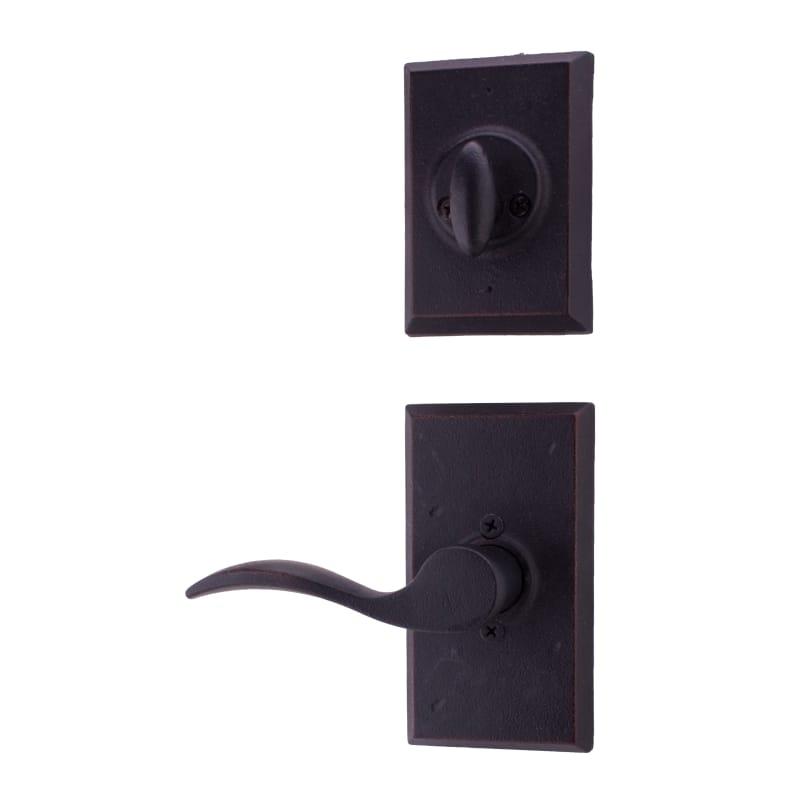 Weslock Handleset Mounting Plates for Elegance /& Molten Bronze requires handing
